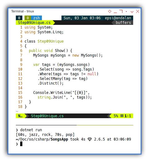 .NET C#: Finishing The Task