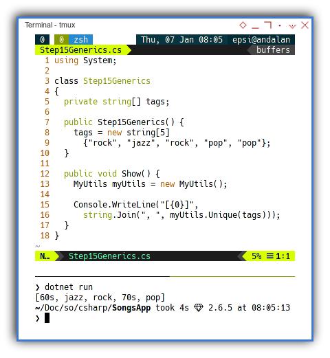 .NET C#: Using MyUtils Class