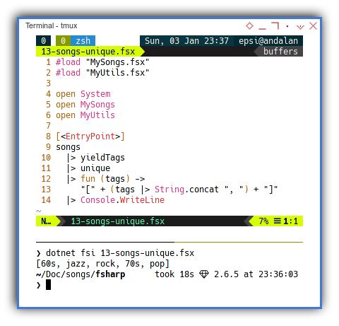 .NET F#: Finishing The Task