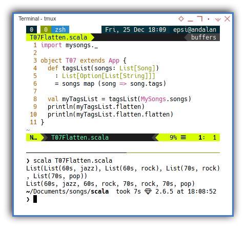 Scala: Flatten Twice: Option and Nested List
