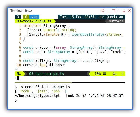Typescript: Unique Tags