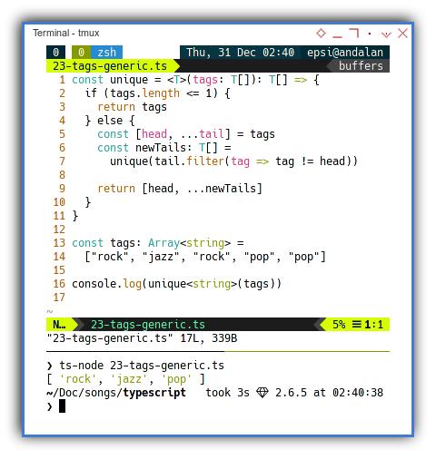Typescript: Generics Function Type