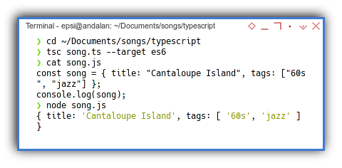 Typescript: Compile, View And Run